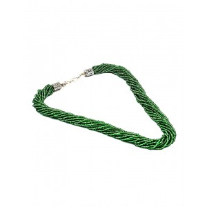 Green Small Beads Necklace AK24