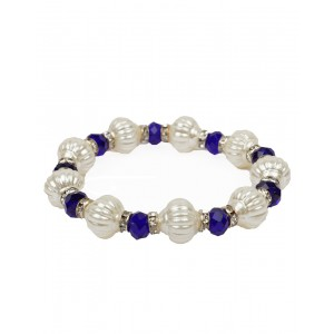Blue And Offwhite Bracelet AK36