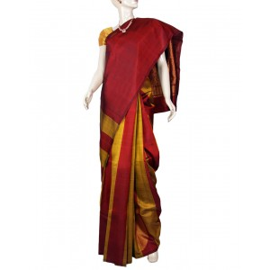 Kanchivaram Pure Silk Saree PS16