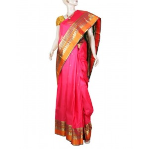 Kanchivaram Pure Silk Saree PS19