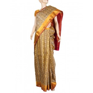 Kanchivaram Pure Silk Saree PS32