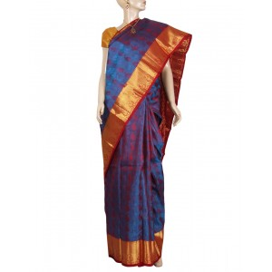 Kanchivaram Pure Silk Saree PS34