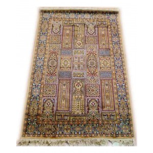 Multicolor Bakhtiari Kashmiri Carpet KCE08