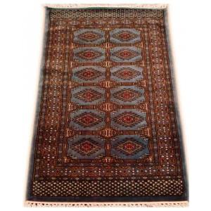 Slate Blue Ersari Dali Kashmiri Carpet KCE21