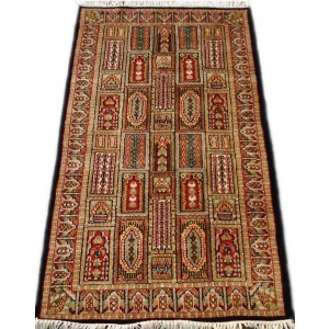 Multi-Color Bakhtiari Kashmiri Carpet KCE28