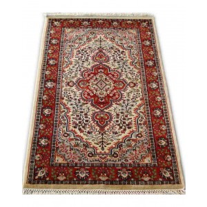 Angora Sarouk Kashmiri Carpet KCE30