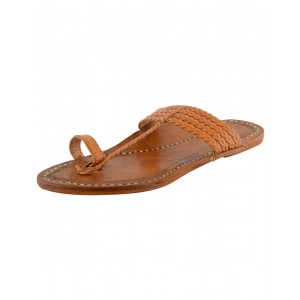 Kolhapuri Men's Leather Chappal KCM26