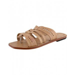 Kolhapuri Men's Leather Chappal KCM27