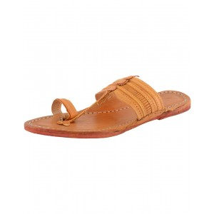 Kolhapuri Men's Leather Chappal KCM35