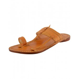 Kolhapuri Men's Leather Chappal KCM38