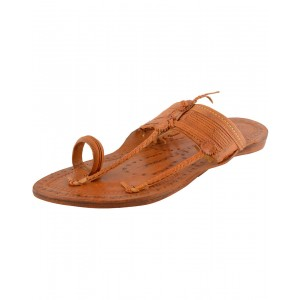 Kolhapuri Men's Special Kapshi Leather Chappal KCM4