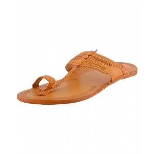 Kolhapuri Men's Leather Chappal KCM15