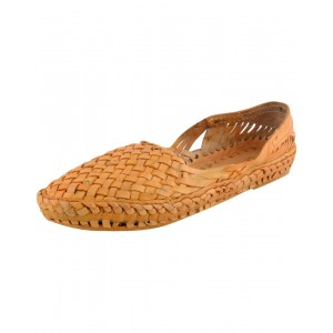 Handmade Leather Kolhapuri Chappal for Women KCF14
