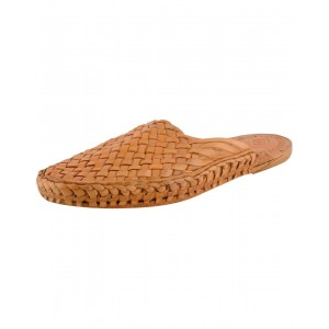 Handmade Leather Sandals - Typical Kolhapuri Chappal for Women KCF13