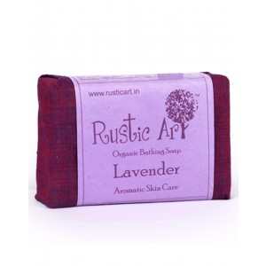 Rustic Art Organic Lavendar Soap RA06 (Pack of 2)