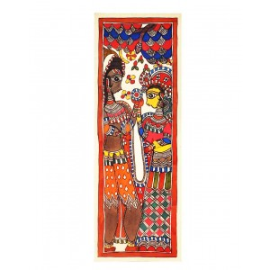 Shiva & Parvati Painting