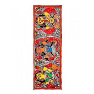 Ganesh, Laxmi & Saraswati Painting