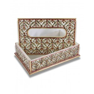 Marble Tissue Paper Holder AAG79