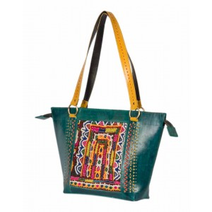 Megha Arts & Crafts Pure Leather Bag MAC38