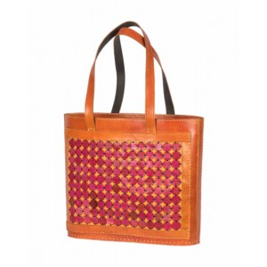 Megha Arts & Crafts Pure Leather Bag MAC41