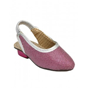 Rajasthani Shiny Pink Sandal HFC031