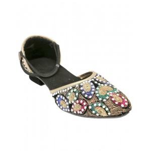 Rajasthani Peacock Crystal Pakiza Sandal HFC035