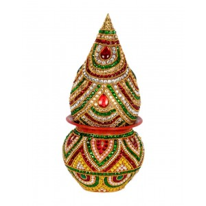 Shree Collection Copper Kalash With Shreefal SC6