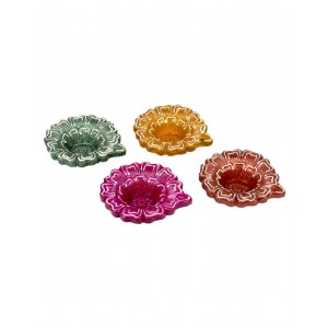 Decorative Clay Diya SC211 (Set Of 4)