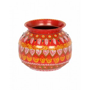 Shree Collection Decorative Steel Kalash SC56