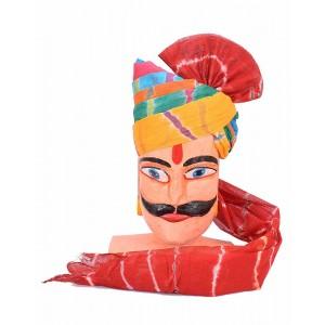 Rajasthani Pachrangi Laheriya Safa MS04