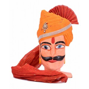 Rajasthani Zari Golden Taar Safa MS26