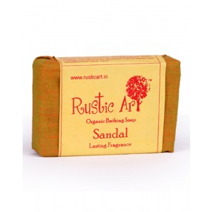 Rustic Art Organic Sandal Soap RA08 (Pack of 2)