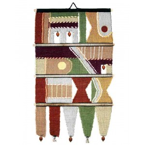Handloom Cotton Wall Hanging 231 AL