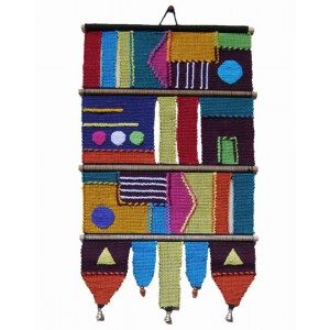 Handloom Cotton Wall Hanging 233 A