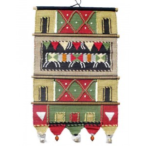 Handloom Cotton Wall Hanging 238 A