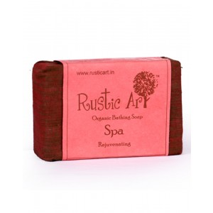 Rustic Art Organic Spa Soap RA03 (Pack of 2)