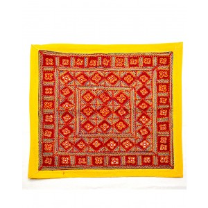 Kutch Qasab Five Mirror Embroidered Table Mat KQ32