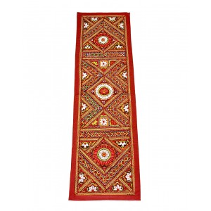 Kutch Qasab Paka Work Table Runner KQ53
