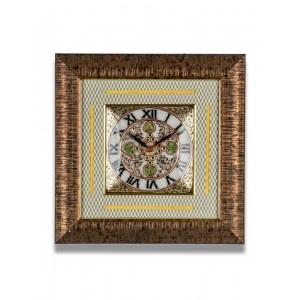 Meenakari Work Marble Wall Clock AAG24