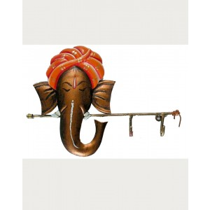Iron Handicrafts Key Hanger With Ganesha IH161