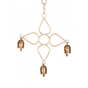 Megha Arts & Crafts Copper Wind Chime MAC178