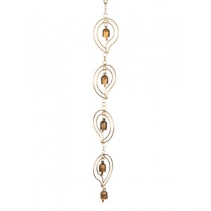 Megha Arts & Crafts Copper Wind Chime MAC182