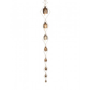 Megha Arts & Crafts Copper Wind Chime MAC183