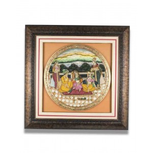 Marble Plate Framed AAG64