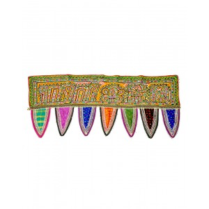 Kutch Qasab Rabbari Work Antique Toran Door Gate Wall Hanging KQ58
