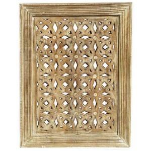 Wood Jali Pannel Colour Finish HAE103