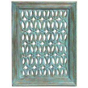 Wood Jali Pannel Colour Finish HAE106
