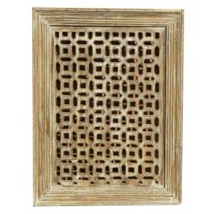 Wood Jali Pannel Colour Finish HAE107