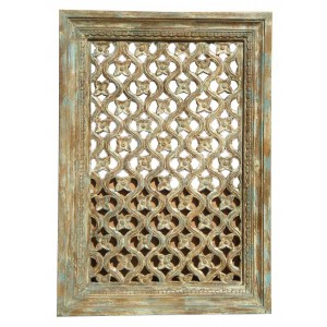 Wood Jali Pannel Colour Finish HAE109