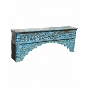 Wood Carved Console Table  HAE11